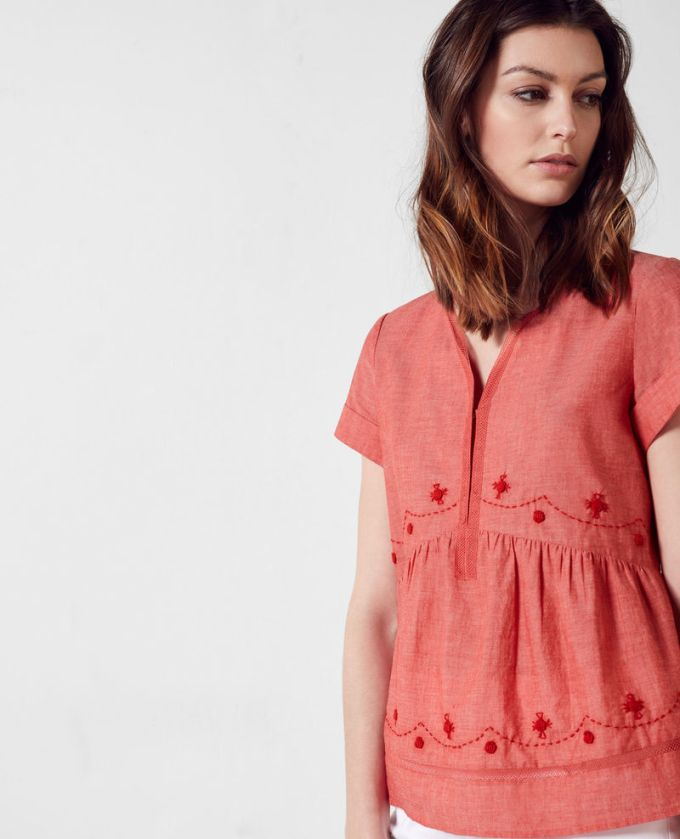 blouse tomette comptoir